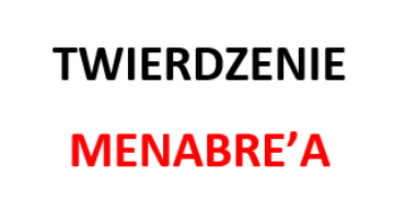 twierdzenie menabrei